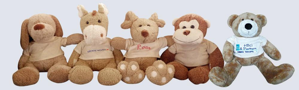 Gelegenheidsberen met borduring